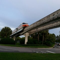 Photo taken at Monorail Red by Suzanne S. on 7/14/2013