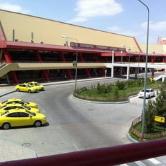 Photo taken at Saparmurat Turkmenbashi International Airport (ASB) by Алишер А. on 5/31/2013