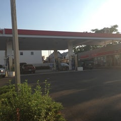 Photo taken at Exxon by Lawrence A. on 7/18/2013