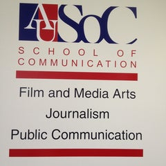 Photo taken at AU – School of Communication (SOC) by Paul B. on 6/10/2013