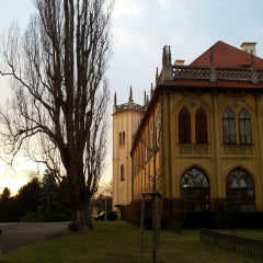 Photo taken at Místodržitelský letohrádek by Sona S. on 12/28/2013