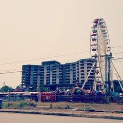 Photo taken at เสม็ดงาม by Thunn on 3/23/2014