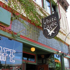 Photo taken at McMenamins White Eagle Saloon & Hotel by Rod S. on 7/15/2013