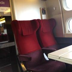 Photo taken at Gare SNCF de TGV Haute-Picardie by Kentus W. on 4/5/2013