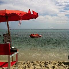 Photo taken at Spiaggia Seccheto by Beatrice F. on 8/29/2013