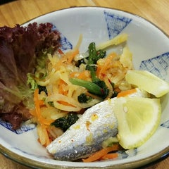 Photo taken at Sushi Tei by Famila K. on 9/28/2015