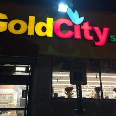 Photo taken at Gold City Supermarket by Montana P. on 1/6/2015