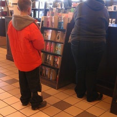Photo taken at Barnes & Noble by Lisa S. on 1/26/2014
