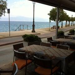 Photo taken at TM restaurant cafe by Γιαννης Ε. on 8/6/2014