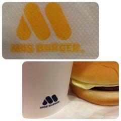 Photo taken at MOS Burger by Monisse C. on 8/24/2013