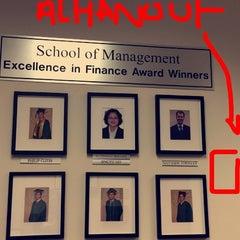 Photo taken at Enterprise Hall - George Mason University by Hanoufa on 5/8/2014