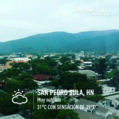 Photo taken at San Pedro Sula by Gaby C. on 10/19/2015