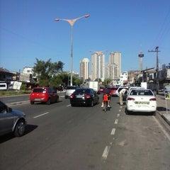 Photo taken at Avenida João Paulo II by Henos Silva J. on 6/26/2013
