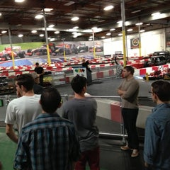 Photo taken at K1 Speed Irvine by Charlie M. on 12/17/2012