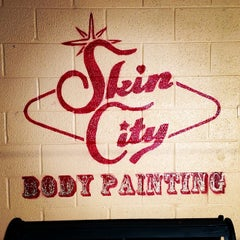 Photo taken at Skin City Body Painting by Steve M. on 1/4/2014
