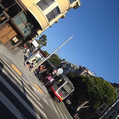 Photo taken at MUNI Metro Stop - Carl & Cole by alfred f. on 6/9/2014