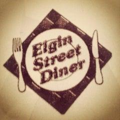 Photo taken at Elgin Street Diner by Dan Z. on 7/21/2012