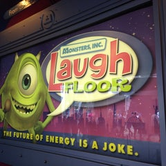 Photo taken at Monsters, Inc. Laugh Floor by P.C. F. on 9/3/2013