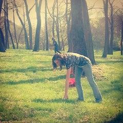 Photo taken at Vago Park by Jessy D. on 4/20/2014