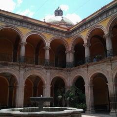 Photo taken at Santiago de Querétaro by Alex P. on 5/26/2013