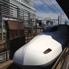 Photo taken at JR 名古屋駅 新幹線ホーム by Katsufumi A. on 5/12/2013