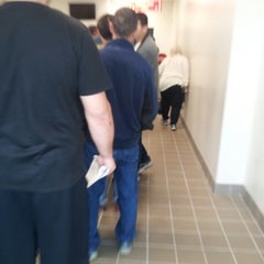 Photo taken at Registry of Motor Vehicles by Adrina A. on 10/16/2013