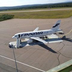 Photo taken at Kittilä Airport (KTT) by Hemm M. on 7/31/2013