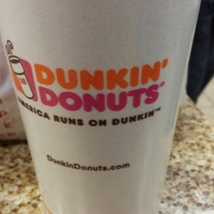 Photo taken at Dunkin Donuts by Justin W. on 11/3/2013