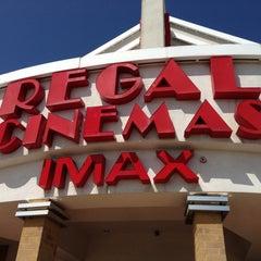 Photo taken at Regal Cinemas Lincolnshire 21 & IMAX by John C. on 4/27/2013