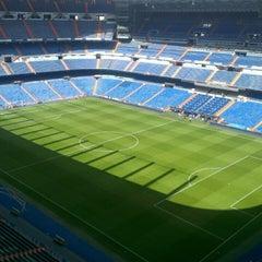 Photo taken at Estadio Santiago Bernabéu by Marc A. on 5/9/2013