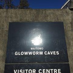 Photo taken at Waitomo Glowworm Caves by Brenda T. on 6/7/2015