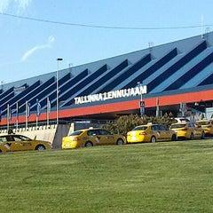 Photo taken at Tallinn Airport (TLL) by Jelena O. on 5/27/2013