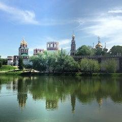 Photo taken at Новодевичий монастырь by Даниил П. on 5/19/2013