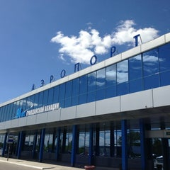 Photo taken at Международный аэропорт Омск-Центральный / Omsk Tsentralny International Airport (OMS) by Anastasiya P. on 5/29/2013