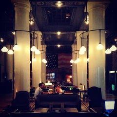 Photo taken at Ace Hotel Lobby Bar by miki m. on 8/18/2013
