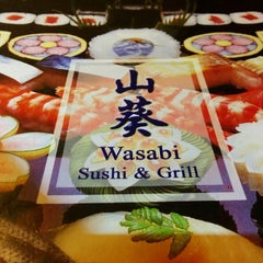Photo taken at Wasabi Sushi and Grill by Jake T. on 1/8/2014