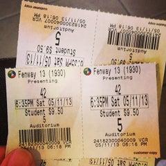 Photo taken at Regal Cinemas Fenway 13 & RPX by Schildgasse on 5/12/2013