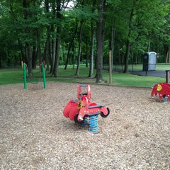 Photo taken at Bassett Park by Anne T. on 7/25/2013