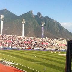 Photo taken at Estadio Tecnológico by Nahum M. on 5/4/2013