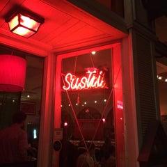 Photo taken at Okoze Sushi by Patrick V. on 9/21/2014