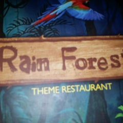 Photo taken at Rainforest Restaurant by Rakesh C. on 7/2/2013