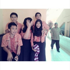 Photo taken at SMA Negeri 8 Malang by Sandi H. on 3/16/2014