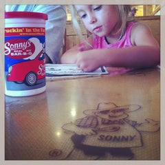 Photo taken at Sonny's BBQ by Tanya C. on 7/24/2013