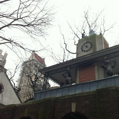 Photo taken at Central Park Zoo by Burcu B. on 12/29/2012