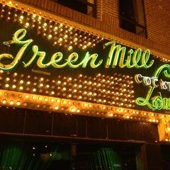 Photo taken at Green Mill Cocktail Lounge by Sara B. on 3/22/2013