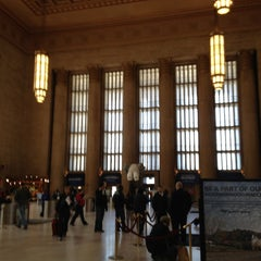 Photo taken at 30th Street Station by Sharyn F. on 4/21/2013