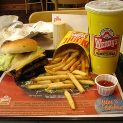 Photo taken at Wendy's by F. Khristopher B. on 10/11/2012