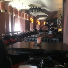 Photo taken at Cafe Cafe by Cassandra A. on 2/21/2013