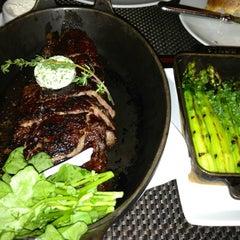 Photo taken at BLT Steak by Justin P. on 3/14/2013