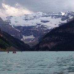 Photo taken at Lake Louise by Samir G. on 7/3/2013